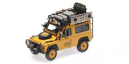 Voitures Competition-1/43-AlmostReal-Land Rover Defender Camel