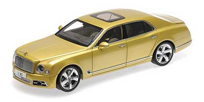 Voitures Civiles-1/18-AlmostReal-Bentley Mulsanne or 2017