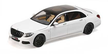 Voitures Civiles-1/18-AlmostReal-Brabus 900 Merc-Mayb S600