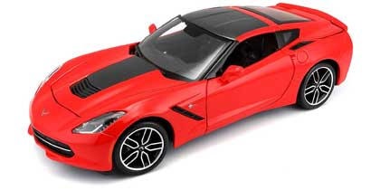 Voitures Civiles-1/18-Maisto-Corvette C7 Stingray Z51