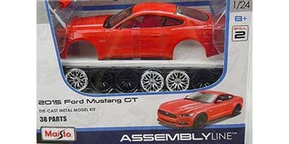 Voitures Civiles-1/24-Maisto-Kit Ford Mustang 2015
