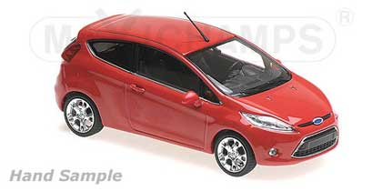 Voitures Civiles-1/43-Maxichamps-Ford Fiesta 2011