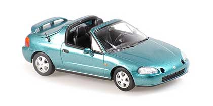 Voitures Civiles-1/43-Maxichamps-Honda Civic Del Sol 1992