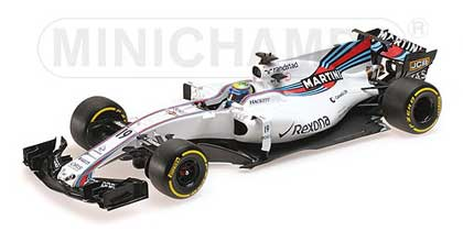 Formule1-1/18-Minichamps-Williams Merc FW40 2017