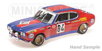 Voitures Competition-1/18-Minichamps-Ford Capri RS 2600 Shark
