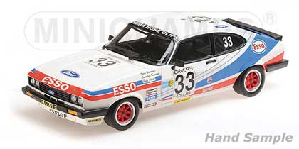 Voitures Competition-1/18-Minichamps-Ford Capri 3.0 Woodman
