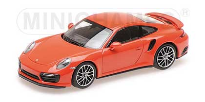 Voitures Civiles-1/43-Minichamps-Porsche 911 Turbo S 2018