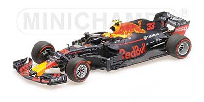 Formule1-1/43-Minichamps-Red Bull Racing RB14