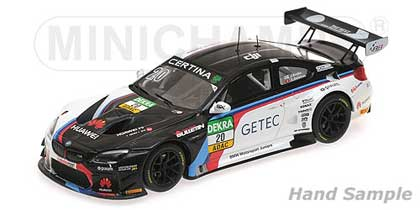 Voitures Competition-1/43-Minichamps-BMW M6 GT3 Schubert