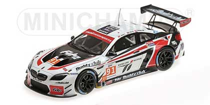 Voitures Competition-1/43-Minichamps-BMW M6 GT3 AAI Racing