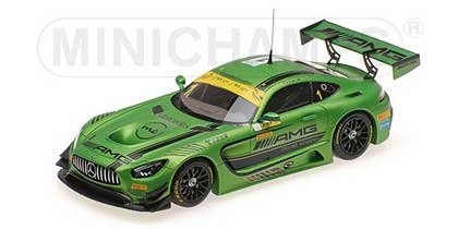 Voitures Competition-1/43-Minichamps-Mercedes AMG GT3